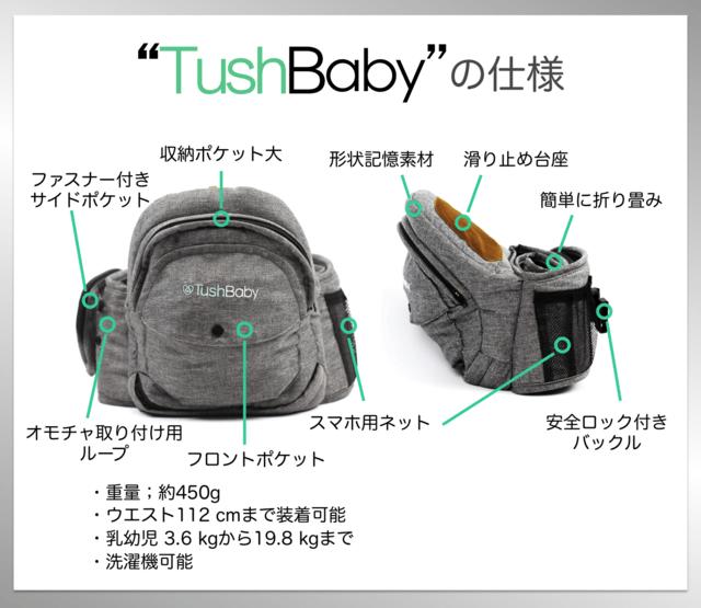 TushBaby収納力