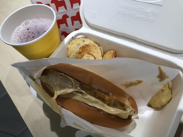IKEA渋谷ベジドッグ